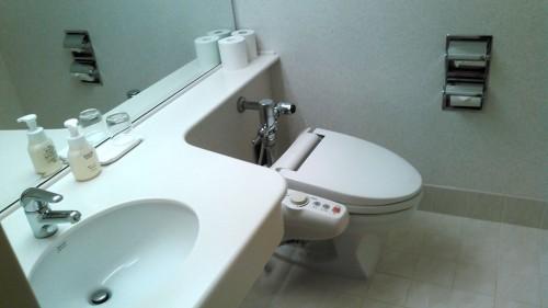 ウェスティンルスツリゾートホテル3階トイレ