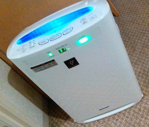 ウェスティンルスツリゾートホテル空気清浄機