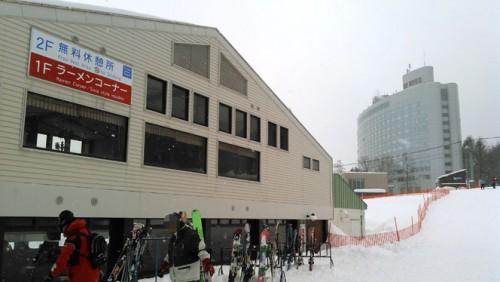 富良野スキー場ラーメン