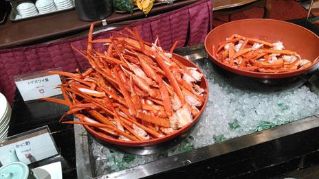 新富良野プリンス 蟹