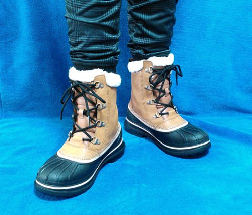 crocs boot コーディネート