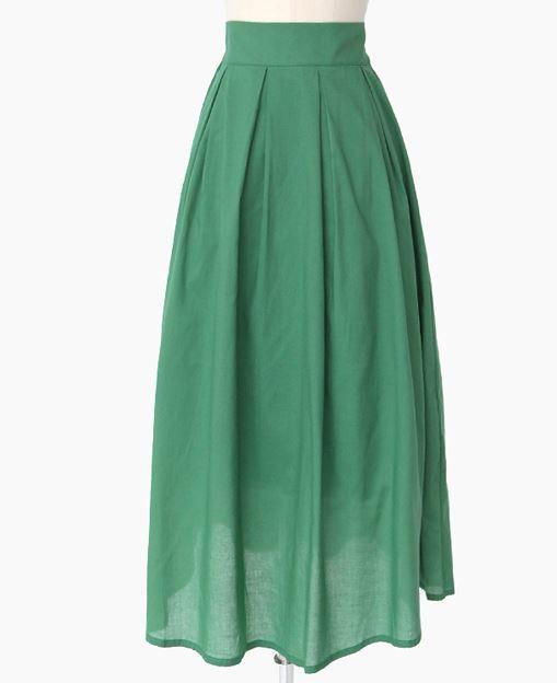 サーヤ グリーンのスカート