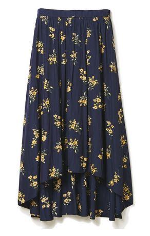 綾瀬はるか 花柄スカート