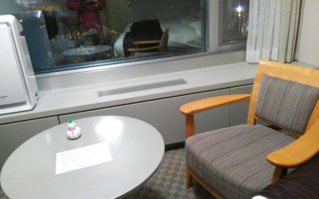 新富良野プリンスホテル テーブル