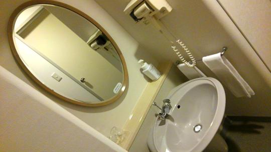 新富良野プリンスホテル 鏡