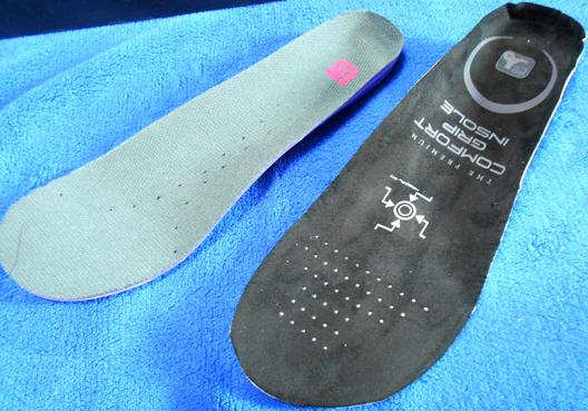 スノーボードブーツ インソール