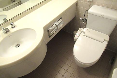 シェラトンホテルのトイレ