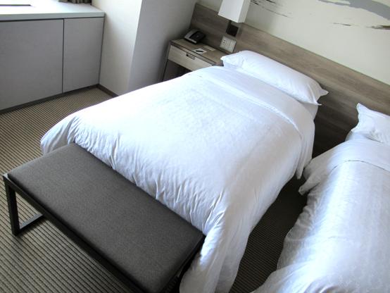 キロロのホテル ベッド