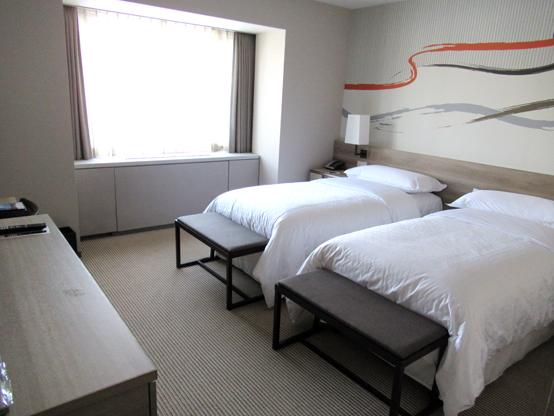 シェラトンホテルの部屋