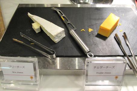 夕食バイキング チーズ