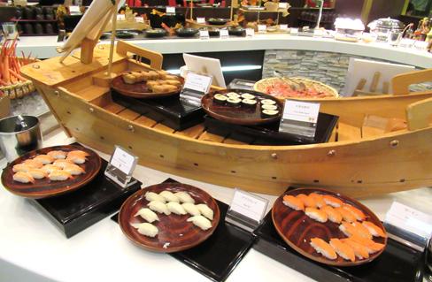 キロロ シェラトン お寿司食べ放題