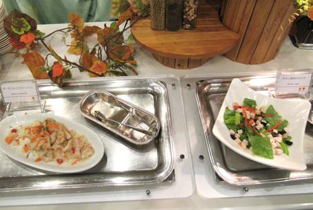 シェラトンホテル 夕食バイキング 前菜