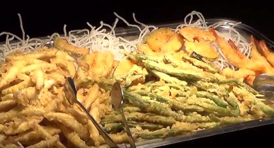 トマム 天ぷら食べ放題