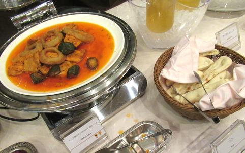 夕食バイキング インド料理