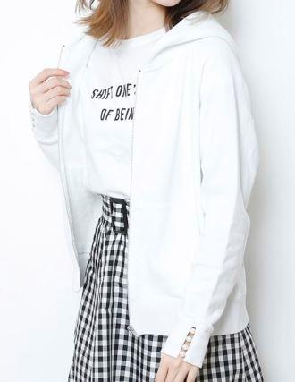 深田恭子 パーカー