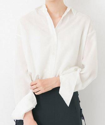 石原さとみ 白のシャツ