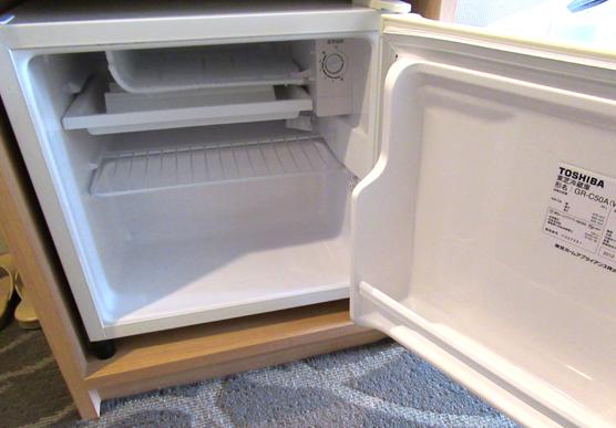 ルスツリゾート スキー場のホテル ノース&サウスウイング 冷蔵庫