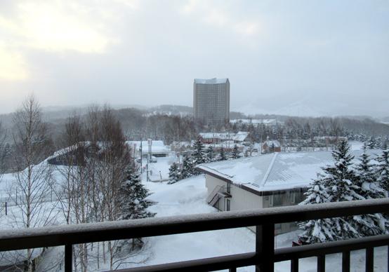 ルスツリゾートスキー場 ノース&サウスウイングホテルの景色