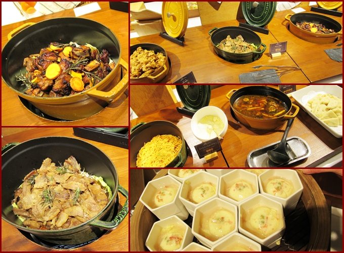 ルスツ 夕食バイキング 肉料理