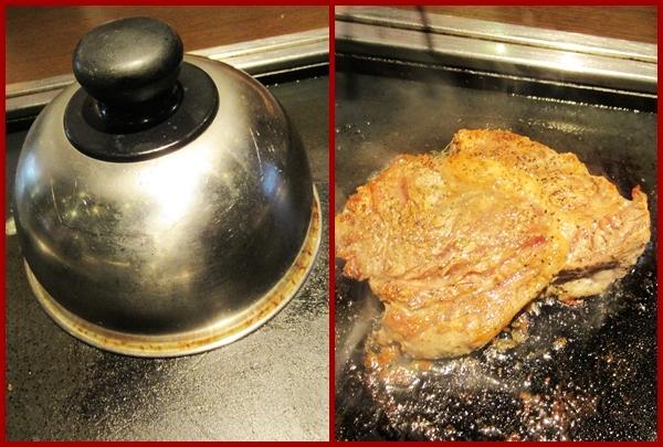 熟成肉のステーキ食べ放題