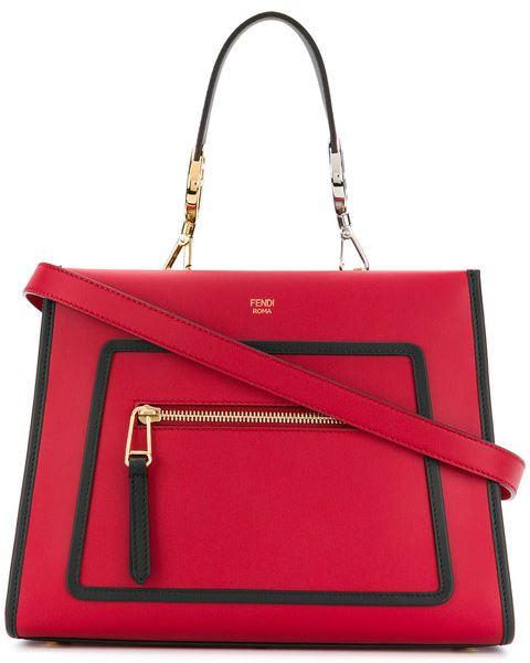 長澤まさみ 赤のバッグ