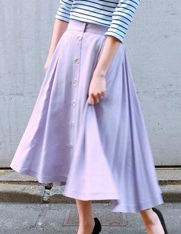 中村アンさんのスカート