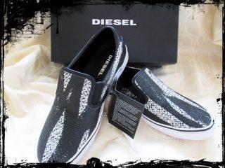 【ディーゼル スリッポン】ハイブランドでメンズの靴買ってみた!サイズ感や履き心地をレビュー
