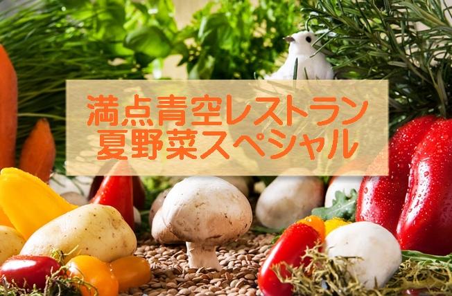 満点青空レストラン 夏野菜の取り寄せ