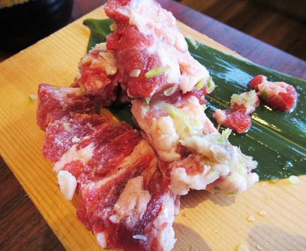 牛角ビュッフェ 焼肉食べ放題 熟成厚切りカルビ