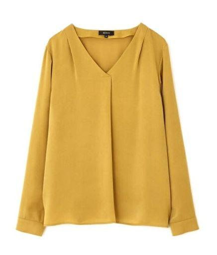 スーツ 新木優子 イエローのブラウス 衣装 鈴木保奈美 ファッション
