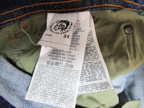 YOOX ディーゼルデニム ブランド品 本物?偽物? YOOXコード セール 割引 メンズ