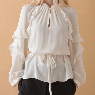 初めて恋をした日に読む話  深キョン 深田恭子 衣装 はじこい フリルブラウス 洋服 ファッション ブランド