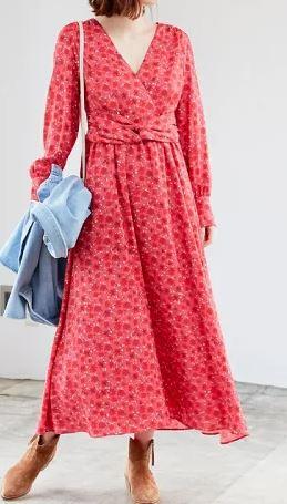 初めて恋をした日に読む話 深田恭子 衣装 はじこい レッド ワンピース ファッション