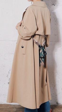 スカーフトレンチコート 初めて恋をした日に読む話 深キョン 衣装 はじこい 洋服