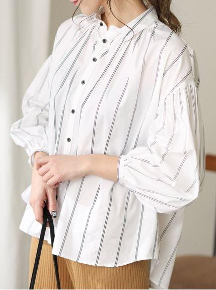 初めて恋をした日に読む話 深キョン 衣装 はじこい 白のボーダーブラウス 洋服