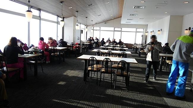 キロロスキー場 朝里ビュー スノーワールド レストラン 休憩所 おすすめ 食事 ランチ ゲレンデ