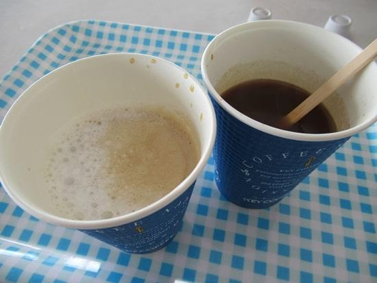 キロロリゾート スキー場 食事 コーヒー 朝里ビュー