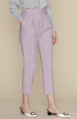 わた定 わたし、定時で帰ります 衣装 洋服 吉高由里子 ラベンダー パンツ