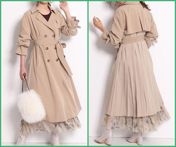 ルパンの娘 深キョン トレンチコート 洋服
