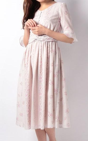 ルパンの娘 深田恭子 花柄ワンピース 洋服
