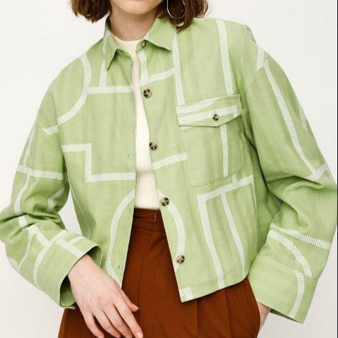 今田美桜さんのセットアップ 洋服 衣装
